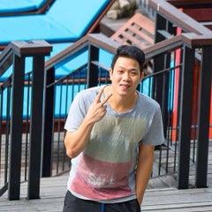 Photo taken at Royal Phala Cliff Beach by Laktasoy A. on 7/23/2015