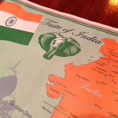 Photo taken at Taste Of India by Matt S. on 1/27/2013