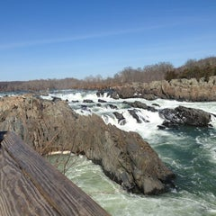 Photo taken at Great Falls National Park by Nate R. on 2/18/2013