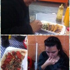 Photo taken at Tacos Palomo by Jona T. on 1/14/2014