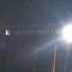 Photo taken at Lalbhai Contractor Stadium by Anish V. on 3/27/2014