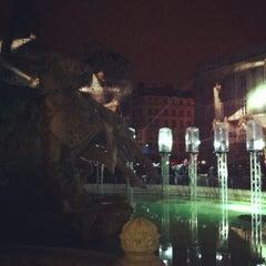 Photo taken at Place des Terreaux by Adrien L. on 12/8/2012
