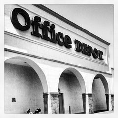 Photo taken at Office Depot by César on 2/9/2013