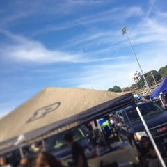 Photo taken at Purdue Tailgating Intermural Fields by JD G. on 9/14/2013