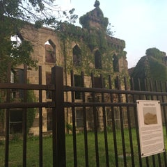 Photo taken at Smallpox Hospital by YourMomsAnd M. on 7/13/2015