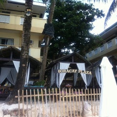 Photo taken at Boracay Plaza Hotel by Anna on 2/8/2014