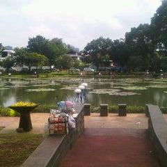 Photo taken at Taman Situ Lembang by Putri O. on 3/4/2013