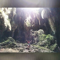 Photo taken at Callao Cave by Jil S. on 8/9/2015