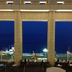 Photo taken at Hyatt Regency Nice Palais de la Mediterranee by Andrew R. on 6/11/2013