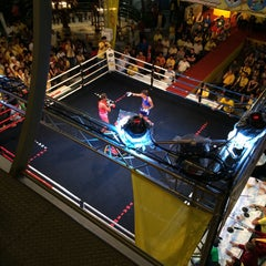 Photo taken at MBK Fight Night by Jason L. on 12/5/2014