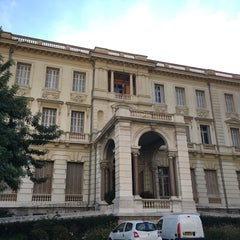 Photo taken at Musée Masséna by Bilge B. on 11/17/2015