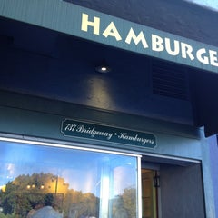 Photo taken at Hamburgers by Stephanie M. on 4/16/2013