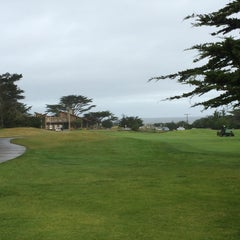 Photo taken at Pacific Grove Golf Links by Eric T. on 4/25/2015