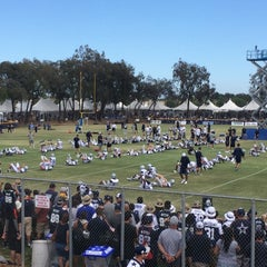 Photo taken at Dallas Cowboys Training Camp by Eric T. on 8/2/2015