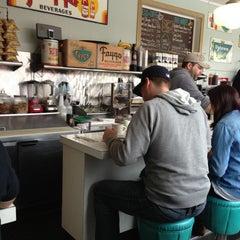 Photo taken at Mae's by Jeffrey B. on 2/24/2013
