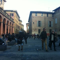 Photo taken at Piazza Verdi by Jihoon G. on 11/6/2012
