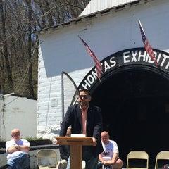 Photo taken at Pocahontas Exhibition Coal Mine by Thomas B. on 4/26/2014
