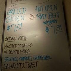 Photo taken at John's Cafe by Richard G. on 9/19/2013