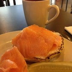 Photo taken at Levy's Bagels & Deli by Erma Zurita on 12/28/2012