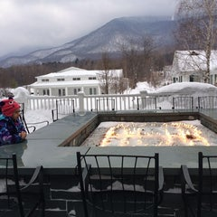 Photo taken at The Equinox Golf Resort & Spa, Vermont by John H. on 2/15/2014