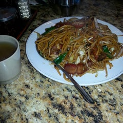 Photo taken at Cafe Noodle Chinese BBQ & Seafood by Estiffany G. on 1/31/2014