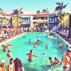 Photo taken at The Lafayette Hotel, Swim Club & Bungalows by The Lafayette Hotel, Swim Club & Bungalows on 1/23/2014