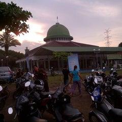 Photo taken at Masjid Raya Jatimulya by nasrulloh h. on 7/10/2013