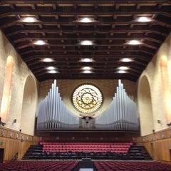 Photo taken at Winthrop Hall by Matt A. on 4/26/2012