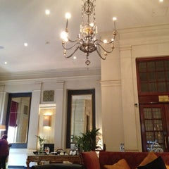 Photo taken at The Bloomsbury Hotel by Moises C. on 3/19/2012
