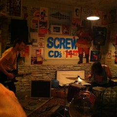 Photo taken at Trailerspace Records by the sour notes on 2/22/2012