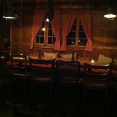 Photo taken at Rigi-Hütte (ehem. Titlis-Hütte) by Tom H. on 2/21/2013