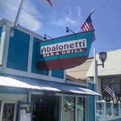 Photo taken at Abalonetti Seafood Trattoria by Steven S. on 6/5/2014