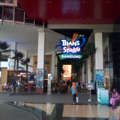 Photo taken at Trans Studio Mall (TSM) by hazelyn N. on 3/13/2013