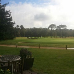 Photo taken at Hilversumsche Golfclub by Patrick K. on 10/4/2012