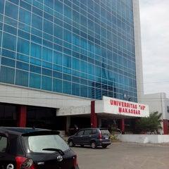 "Photo taken at Universitas ""45"" Makassar by Ahmad I. on 7/31/2013"