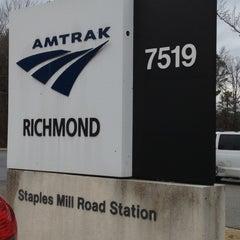 Photo taken at Richmond Amtrak Station (RVR) by Angela L. on 1/1/2013
