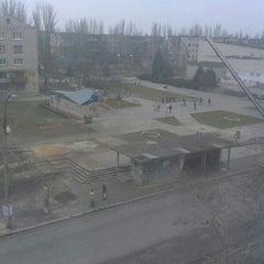 "Photo taken at Остановка ""Шумен"" by Валерий К. on 2/15/2014"