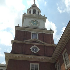 Photo taken at Independence Hall by Kathy S. on 6/17/2013