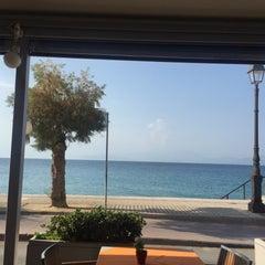 Photo taken at TM restaurant cafe by Christos P. on 8/1/2015