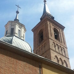 Photo taken at Iglesia de San Nicolás de los Servitas by Vinh B. on 7/8/2014