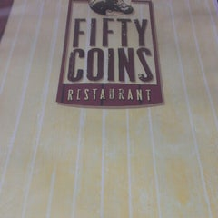 Photo taken at Fifty Coins by Melinda Z. on 6/20/2014