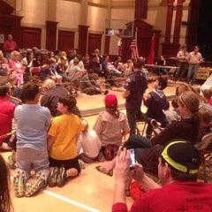 Photo taken at Central United Methodist Church by Boyd W. on 3/15/2014