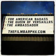 Photo taken at FilmBar by Jeremiah W. on 10/12/2012