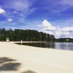 Photo taken at Lake Tobosofkee by Elena A. on 5/19/2015