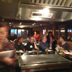 Photo taken at Hibachi of Valley Forge by Leslie C. on 3/9/2013
