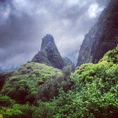 Photo taken at ʻĪao Valley State Park by Jon D. on 5/9/2013