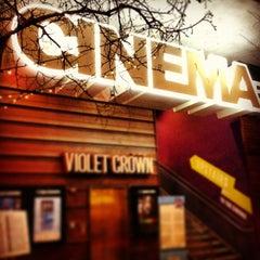 Photo taken at Violet Crown Cinema by Roberto G. on 3/13/2013