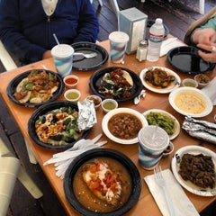 Photo taken at La Super-Rica Taqueria by Peter C. on 12/22/2012