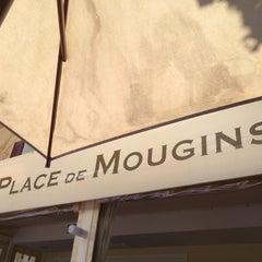 Photo taken at La Place De Mougins by Ken on 7/6/2014