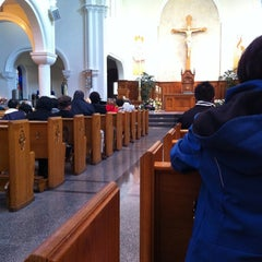 Photo taken at St. Mary's Cathedral by Roger G. on 4/22/2012